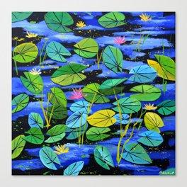 Watrlilies Canvas Print