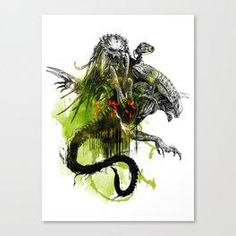 AVP : Fury Canvas Print