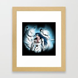 Grimmjow Framed Art Print