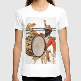 12,000pixel-500dpi - Joseph Christian Leyendecker - Bass Drummer - Digital Remastered Edition T-shirt