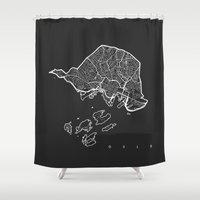 oslo Shower Curtains featuring OSLO by Nicksman