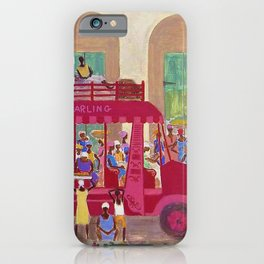 African American Masterpiece 'Haitian Camion' by Ellis Wilson iPhone Case