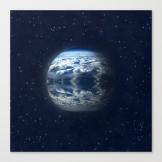 blue planet Canvas Print