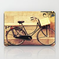 bicycle iPad Cases featuring Bicycle by Indigo Rayz