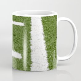 Football Lines Coffee Mug