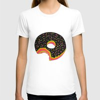 donut T-shirts featuring Donut by Luna Portnoi