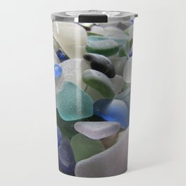 Sea Glass Assortment 6 Travel Mug
