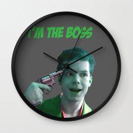 the boss Wall Clock