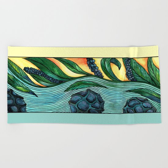 Peppercorn Beach Towel