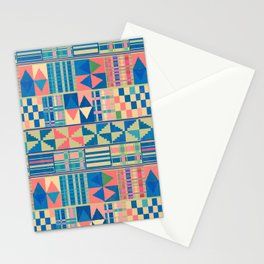 Kente Inspired 2 Stationery Cards