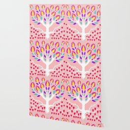 Love Grows Forever - Blush Peach Wallpaper