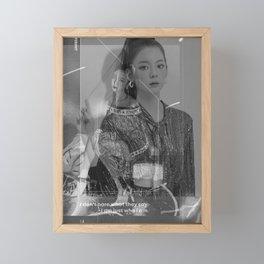 Itzy - Lia Framed Mini Art Print