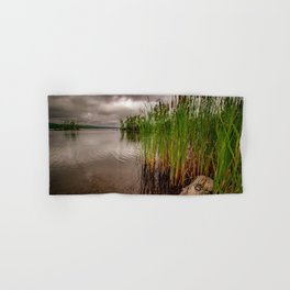 Driftwood And Cattails Hand & Bath Towel