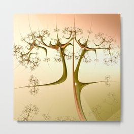 Bare Branches Metal Print