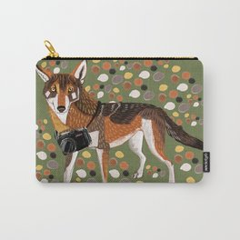 Photographer Red Wolf Carry-All Pouch