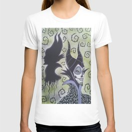 Maleficent Sugar Skull T-shirt
