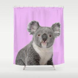 Pretty Cute Koala Shower Curtain