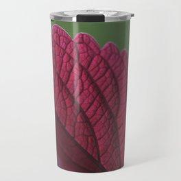 Coleus Pink II Travel Mug