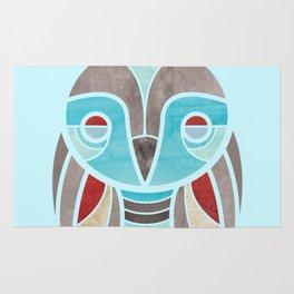 owl colour Rug