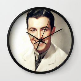 Robert Taylor, Actor Wall Clock