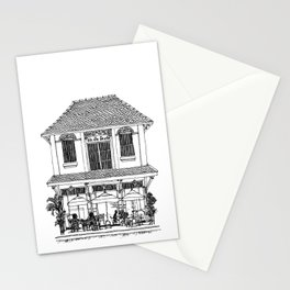 Southeast Asia Sketches: French Colonial Architecture; Laos Stationery Cards