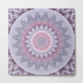 Mandala Witness Metal Print