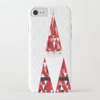 santa iPhone & iPod Cases featuring SANTA by Pardabon
