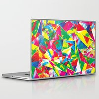 rave Laptop & iPad Skins featuring Rave Paint by Mariah Williams