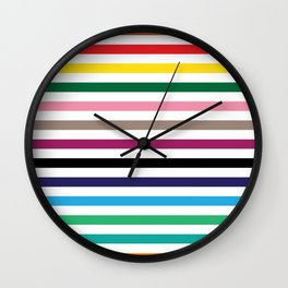 London Underground Tube Lines Wall Clock