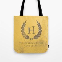 Just and Loyal Tote Bag
