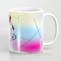 venus Mugs featuring Venus by KeijKidz
