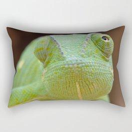 Chameleon Face Rectangular Pillow