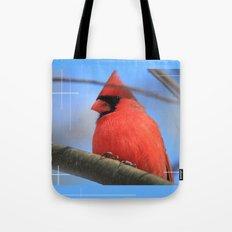 The Cardinal Portrait Tote Bag