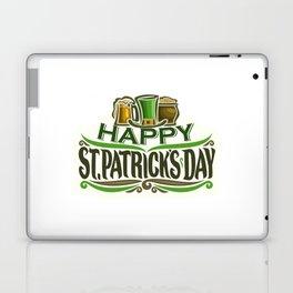 Happy St. Patrick's Day- Ireland Luck Party Laptop & iPad Skin