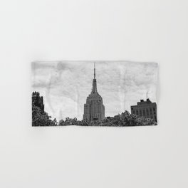 Empire State Building II Hand & Bath Towel