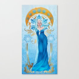 Cool Beauty Canvas Print