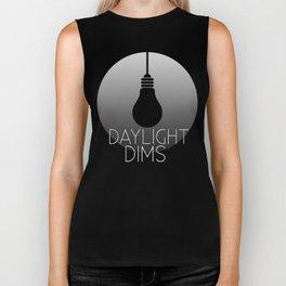 Daylight Dims Logo Biker Tank