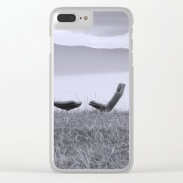 Iceland Lake Break Clear iPhone Case