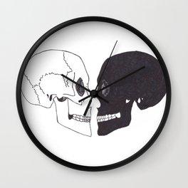 Heartshaped minds Wall Clock