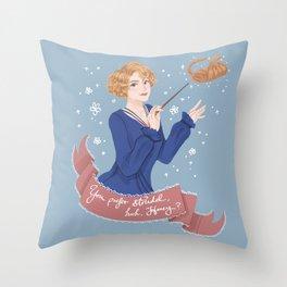 You prefer strudel,huh,Honey? Throw Pillow