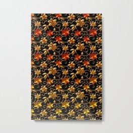Metall Blumen Metal Print