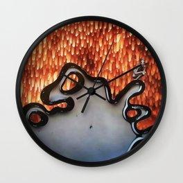Oil Spills Wall Clock