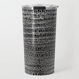 Silver Chain Maille Travel Mug
