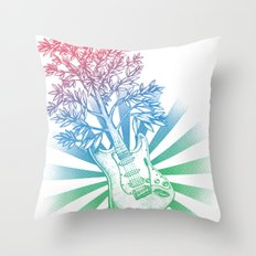 Let It Grow Throw Pillow