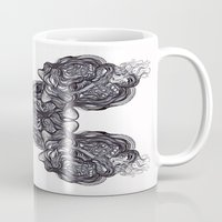 depression Mugs featuring Depression  by Jmele