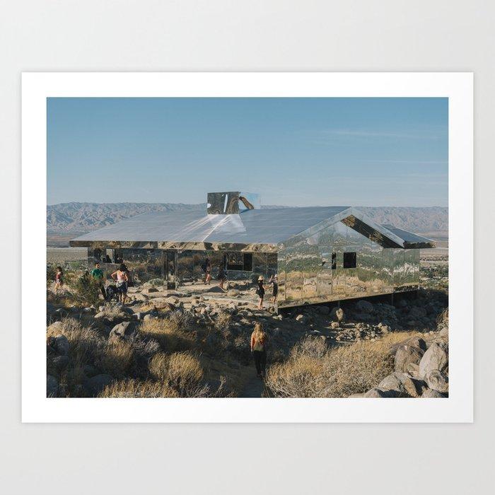 Desert Mirage Art Print