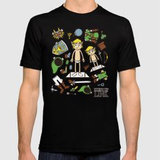 Dress up Link Black MEDIUM Mens Fitted Tee