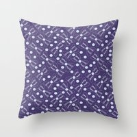 bow Throw Pillows featuring Bow by Sproot