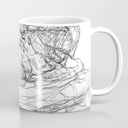 make-out? (B & W) Coffee Mug