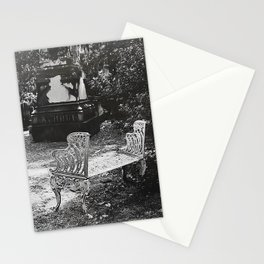 By the Grave I Mourn Stationery Cards